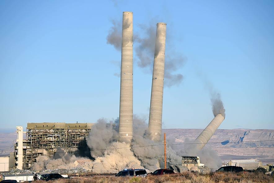 Blasts bring down NGS towers