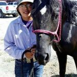 'A great feeling': Rock Point cowgirl on a tear in junior-high pole bending