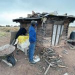 Fending for himself: As winter closes in, isolated elder chops wood, survives