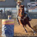 Leupp barrel racer powers to top 4 finish