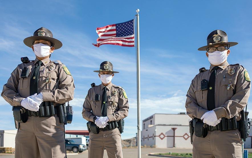 Police recruits persist through COVID, graduate