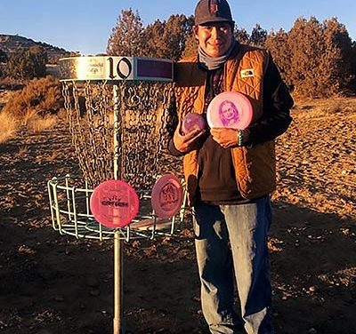 Disc golf helps coach cope with pandemic, losses