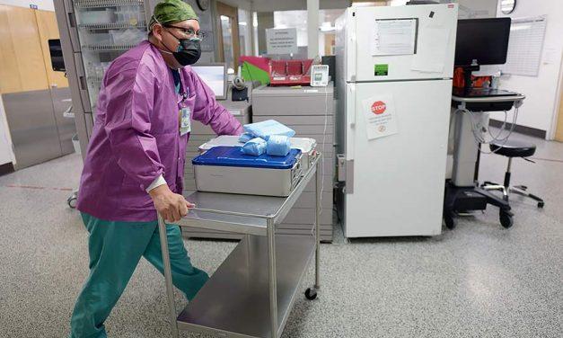 Nurse keeps fighting virus after losing loved ones