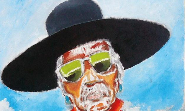 """""""An old soul"""": Diné horseman, artist depicts traditional way of life"""