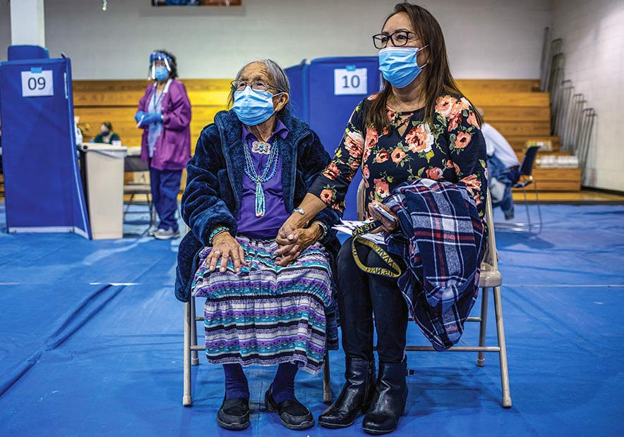 Peace of mind: Diné embrace vaccines for safety of selves, those around them