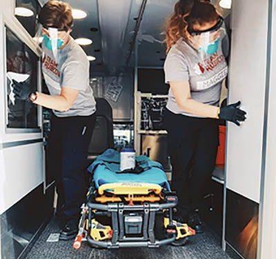 Greyshirts volunteers serve on frontlines during pandemic