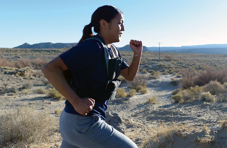 'Tough as nails:' First Diné woman participates in gender-integrated Marine Corps training