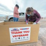 Nonprofits help distribute food boxes to Navajo vets