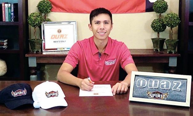 Diné golfer secures scholarship to play for Ottawa University