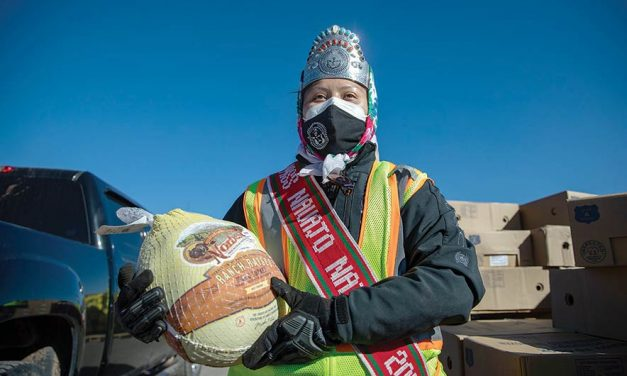 Don't stand in the shadows: Miss Navajo applies skills, service to battle against virus