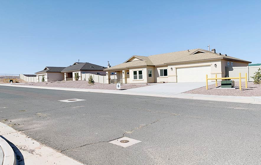Chinle residents have chance to buy upscale homes