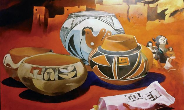 Diné painter questions nature of reality