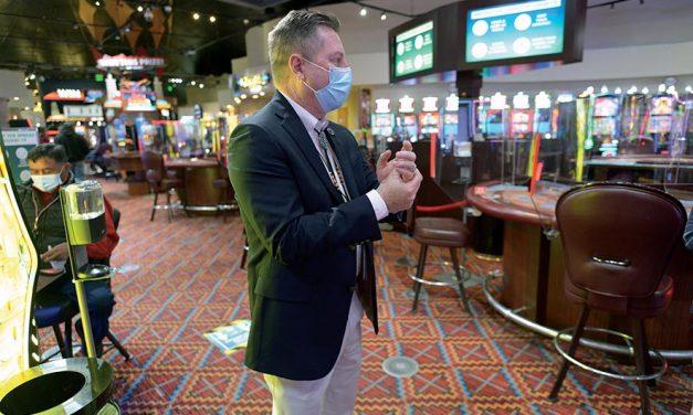 Navajo casinos open smoke free