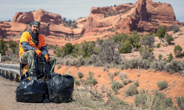 Local hopes to inspires others to pick up litter