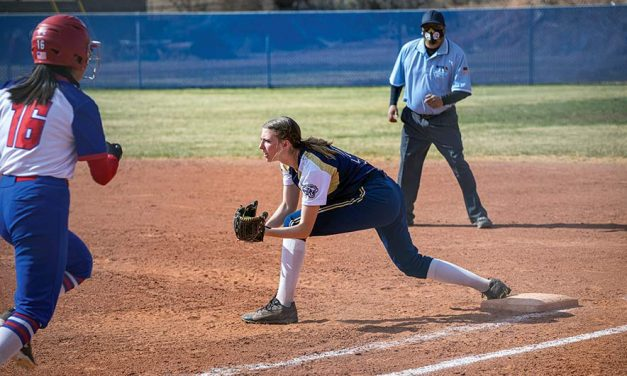 Battle of the birds:  Roadrunners no match for Eagles in softball
