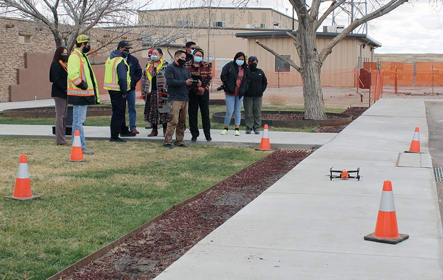 Bisti Fuels helps search & rescue purchase drone