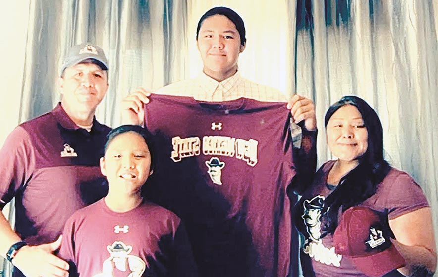 'Climbing the ladder': Shiprock athlete signs on with New Mexico University