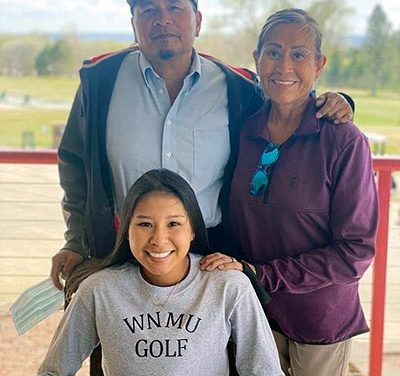 Diné golfer signs on for Western New Mexico