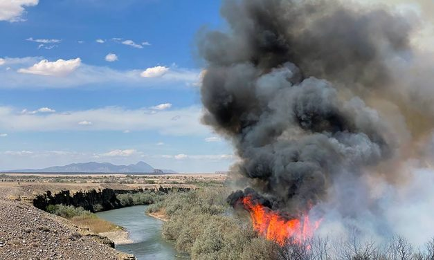 Shiprock fire 50% contained