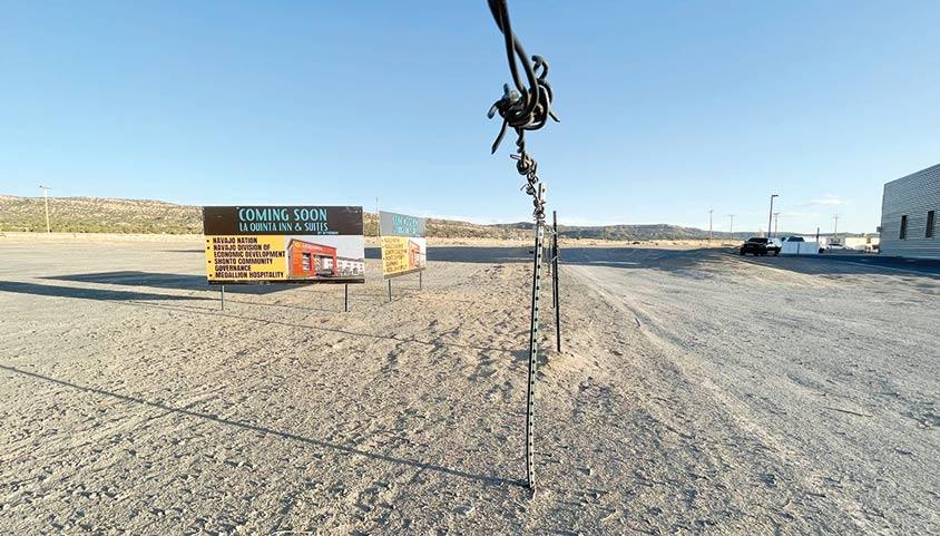 Ground broken for new hotel in Shonto