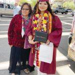 Digital high school holds live drive-thru graduation