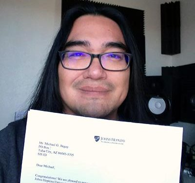 2 Diné composers to further education