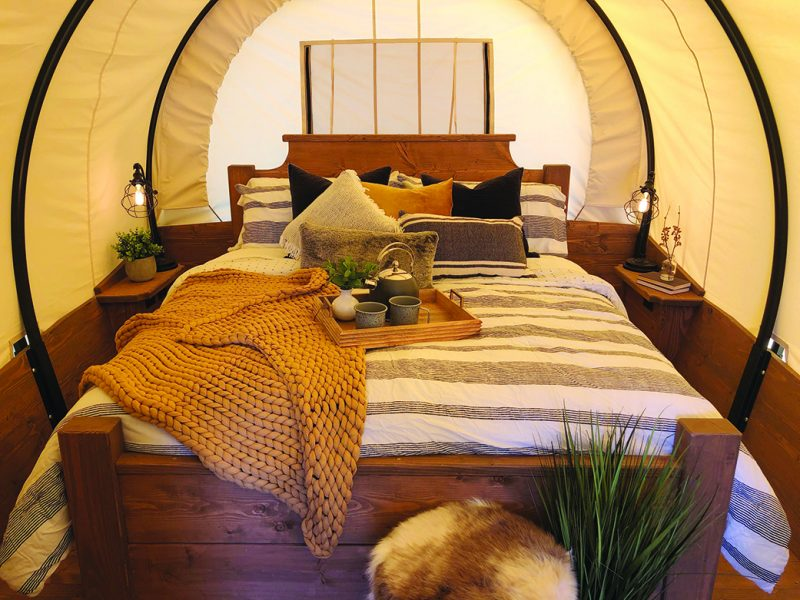 Proposed 'glamping' resort using teepees, hogans stirs controversy