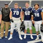 'Not to be messed with': Shiprock tackle plays in Cowboys' stadium