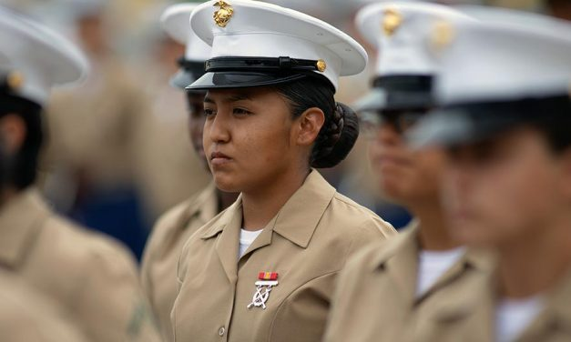 'I'm proud of something that's bigger than me': History-making Marine has no regrets
