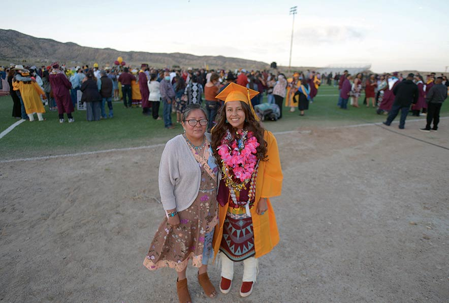 Little girl with sparkling eyes: Mom remembers daughter on graduation day