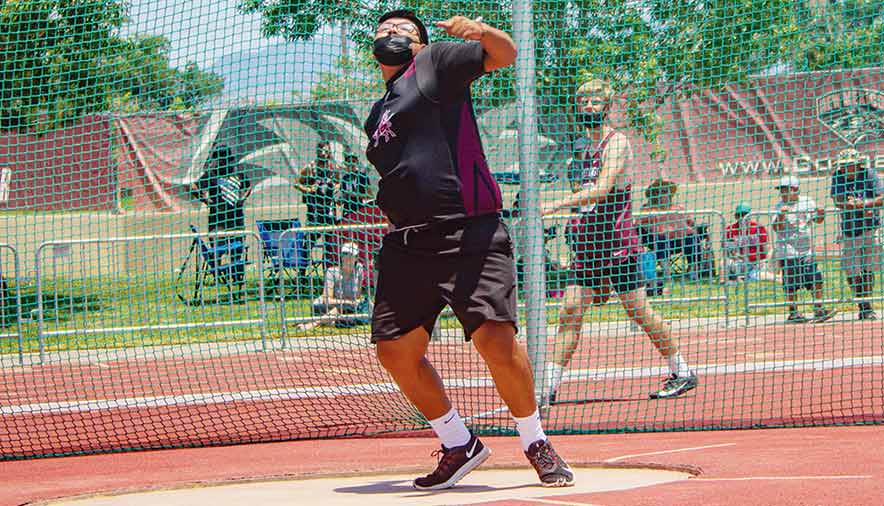Magdalena throwers help Steers win Class 1A team title