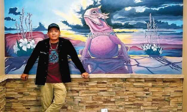 Bringing color, pride to communities:  Horned Toad Cheii mural art bring color and pride to communities