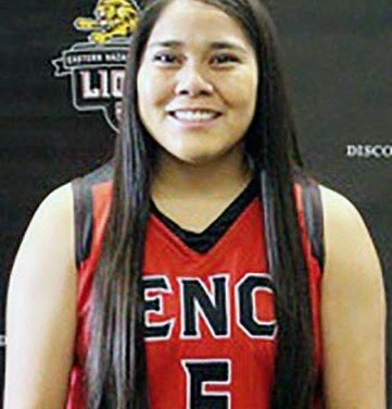 Chinle player credits coach, family for college success