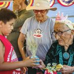 'A survivor':  Celebrating 100th year, homemaker depends on traditional diet, herbs