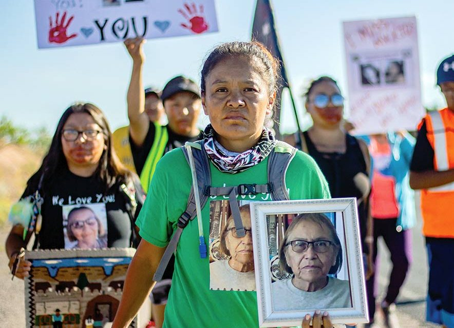 Missing woman mystery continues: Ella Mae Begay's family express frustration with police, investigation