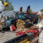 'May we be strong, may our prayers be heard':  Lummi totem pole stops in Bears Ears, Chaco Canyon enroute to D.C.