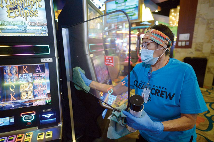 Casinos reopen as coronavirus restrictions ease