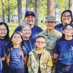 In the Air Force now: Service woman honors dad, inspires family