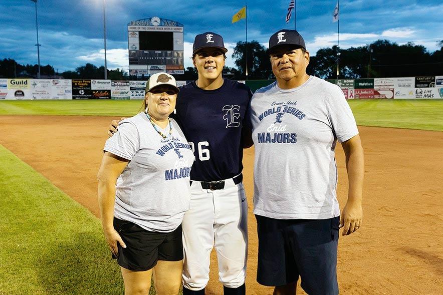 Oklahoma Native part of winning team at Connie Mack World Series
