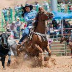'Legendary status': Ceremonial rodeo crowns veteran, rising star