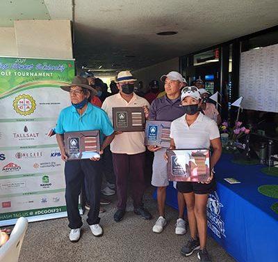 Diné College's scholarship golf tournament a success
