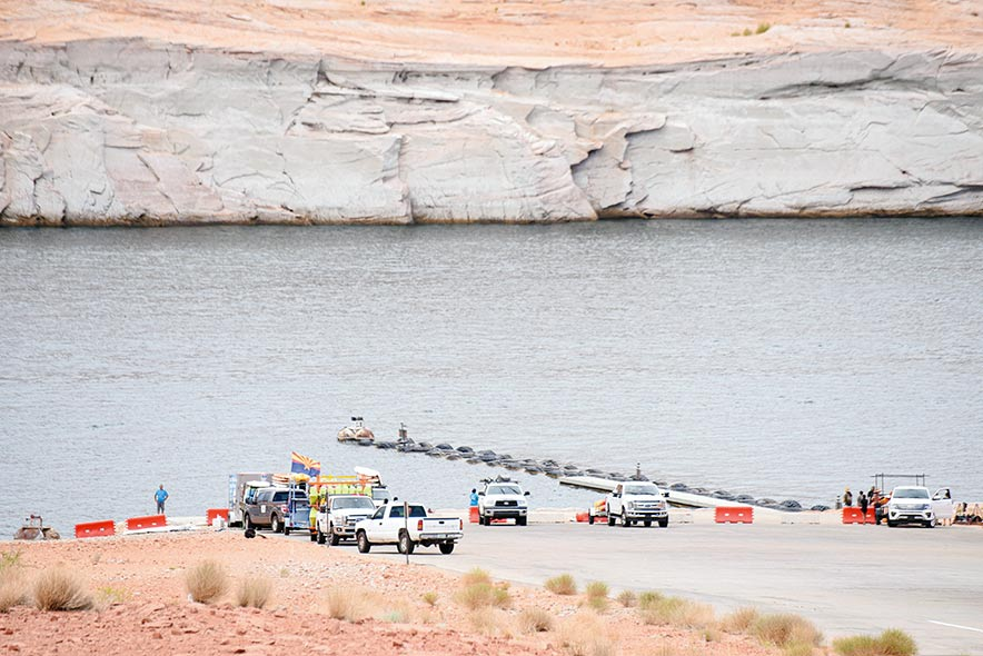 'There's just no water': Low Lake Powell water level concerning for Page