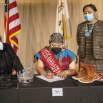 Preserving history: Miss Navajo donates items to museum