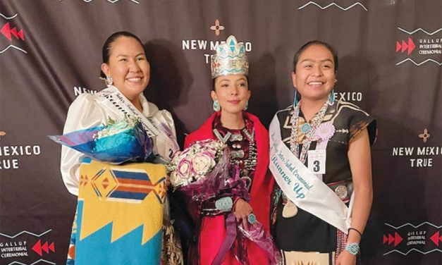'An exciting journey': Amber Ballenger crowned Ceremonial queen