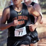 A rare athlete: PV's Charles sets the pace in distance events