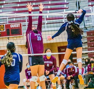 Lady Hornets close out four-set victory over Scouts