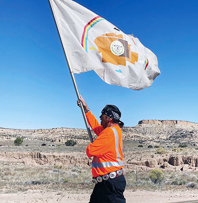 Spirit of the horse: On Indigenous Peoples Day, horseback riders travel 34 miles