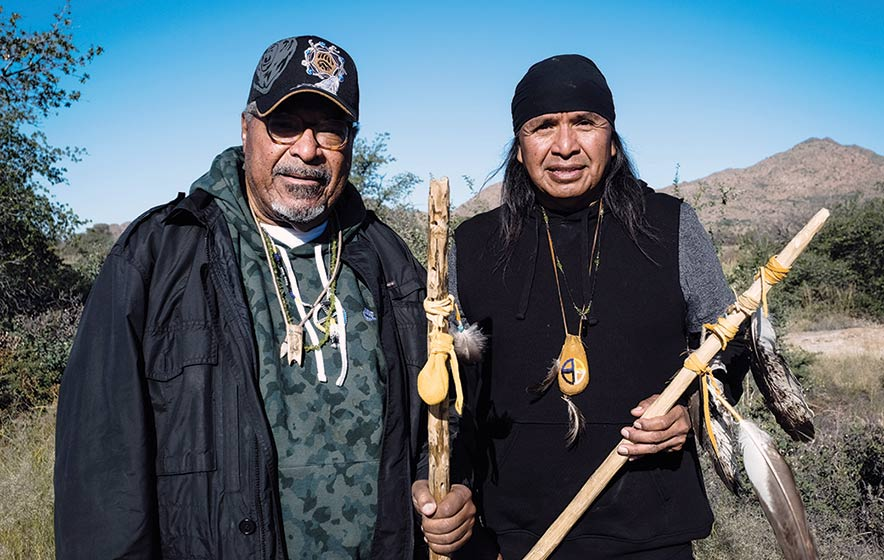 Rev. Mendez joins Apache spiritual convoy to 9th Circuit Court